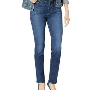 Levis women 724 High Rise Straight  Stretch Jeans